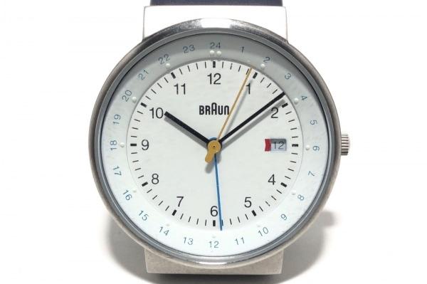 BRAUN(ブラウン) 腕時計 - BN142WHBLG メンズ 白