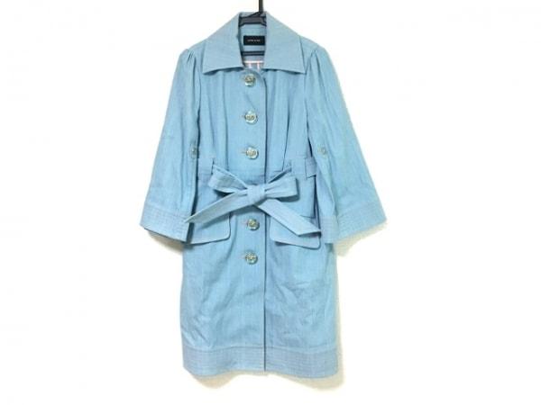 YLANG YLANG(イランイラン) コート レディース美品  ライトブルー×ピンク 春・秋物