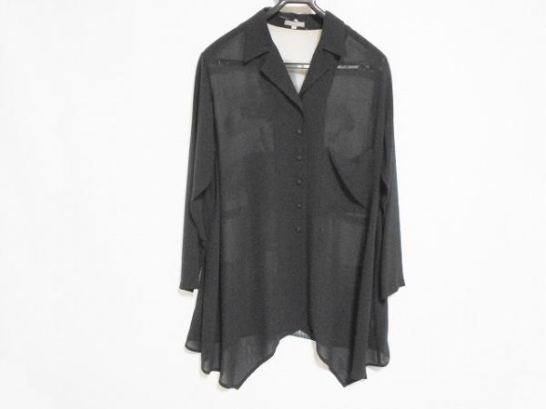 トクコ・プルミエヴォル 長袖シャツブラウス サイズ9 M レディース美品  黒