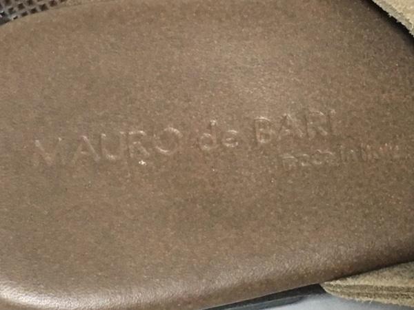 ラボラツィオーネアルティッジャーナ ミュール 37 レディース 白×ベージュ