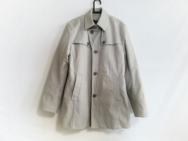 A.S.M(アトリエサブメン) コート サイズ50 メンズ ライトグレー 冬物