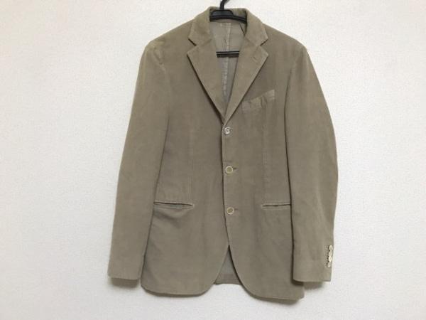 lardini(ラルディーニ) ジャケット サイズ46 XL メンズ ベージュ コーデュロイ