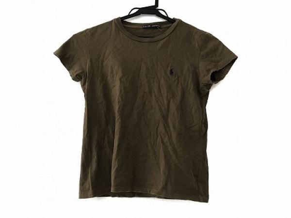 RalphLauren(ラルフローレン) 半袖Tシャツ サイズM レディース カーキ