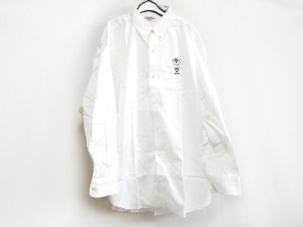 CAPTAIN SANTA(キャプテンサンタ) 長袖シャツ サイズXL メンズ美品  白 ボタンダウン