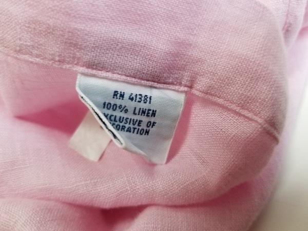 RalphLauren(ラルフローレン) 半袖シャツ サイズXL メンズ ピンク ボタンダウン