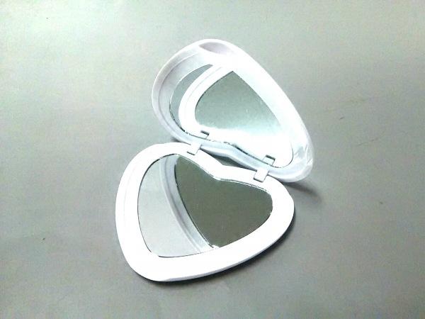Ron Herman(ロンハーマン) ミラー美品  白 ハート プラスチック