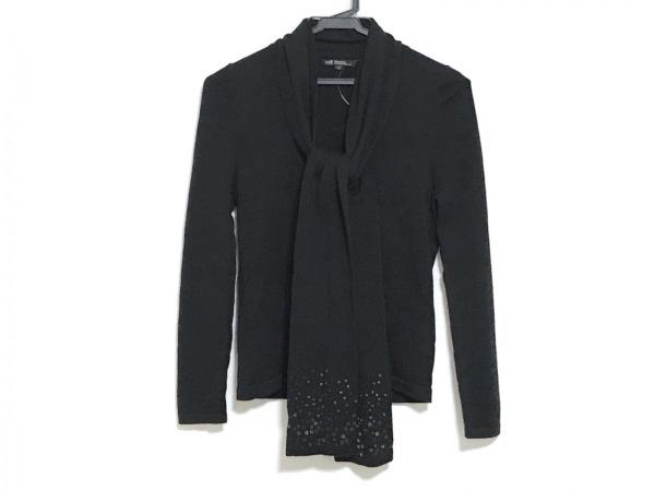 23区(ニジュウサンク) 長袖セーター サイズ32 XS レディース美品  黒