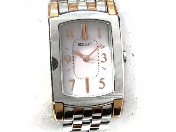 SEIKO(セイコー) 腕時計 V111-0AT0 レディース ライトグレー