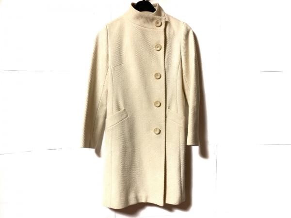 ef-de(エフデ) コート サイズ9 M レディース美品  アイボリー 冬物