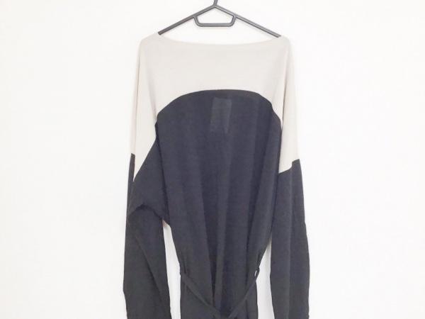 アンドゥムルメステール ワンピース サイズ38 M レディース美品  ベージュ×黒