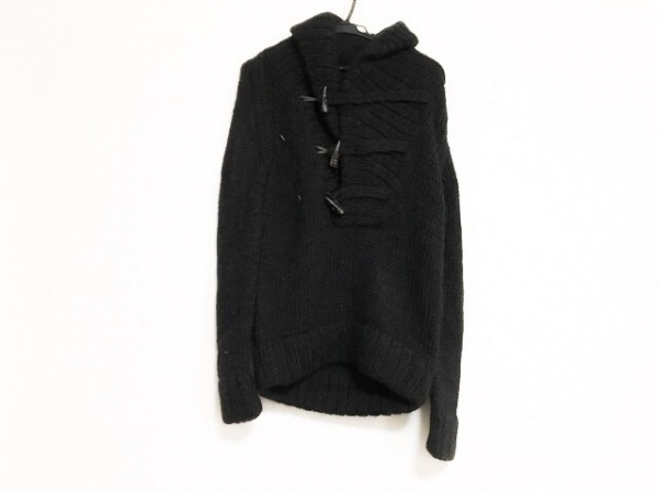 CLOAK(クローク) 長袖セーター サイズS メンズ 黒 アルパカ混