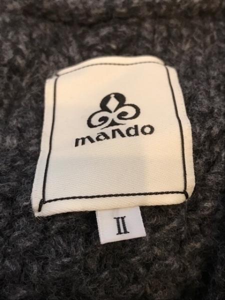 mando(マンド) コート サイズ2 M メンズ グレー ニット/春・秋物