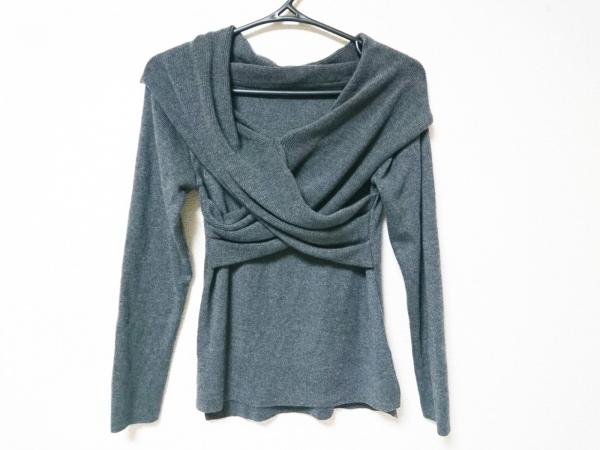 Chesty(チェスティ) 長袖セーター サイズF レディース美品  グレー