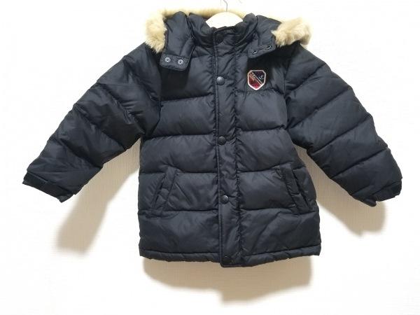 miki HOUSE(ミキハウス) ダウンジャケット サイズ100 メンズ 黒 冬物