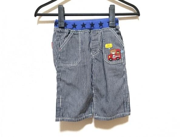 miki HOUSE(ミキハウス) パンツ サイズ100 メンズ ネイビー×白×マルチ