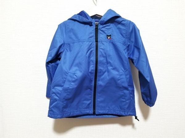 miki HOUSE(ミキハウス) ブルゾン サイズ100 メンズ美品  ブルー×黒×レッド
