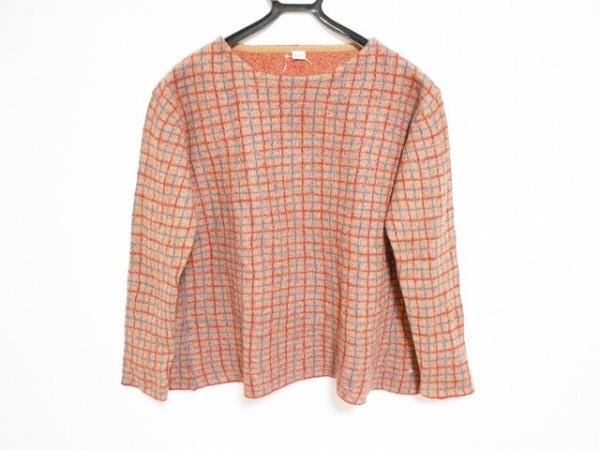 フォーティーファイブ・アール 長袖セーター サイズ0 XS レディース美品  チェック柄