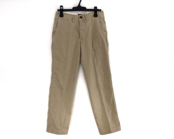 chimala(チマラ) パンツ サイズ25 XS レディース ベージュ ダメージ加工