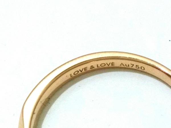 ノーブランド リング美品  2937 2.2 K18×ダイヤモンド×カラーストーン