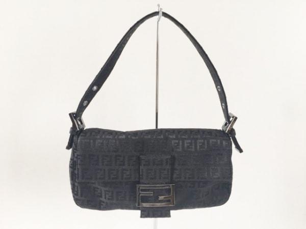 FENDI(フェンディ) ハンドバッグ マンマバケット - 黒 ジャガード