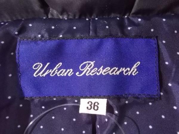 URBAN RESEARCH(アーバンリサーチ) ダウンコート サイズ36 S レディース新品同様  黒