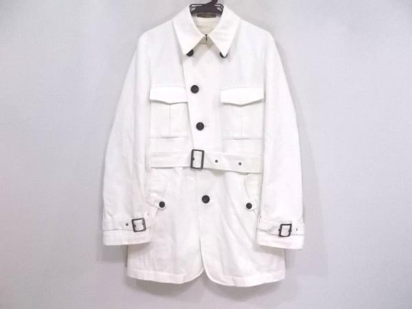 PRIDE(プライド) コート サイズ48 XL メンズ アイボリー 春・秋物