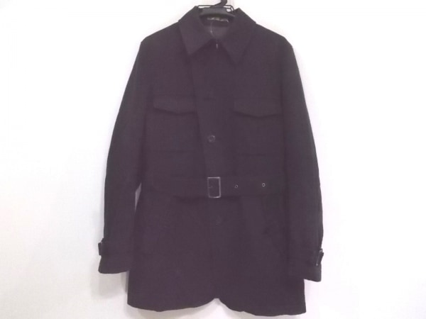 PRIDE(プライド) コート サイズ48 XL メンズ ダークグレー 春・秋物