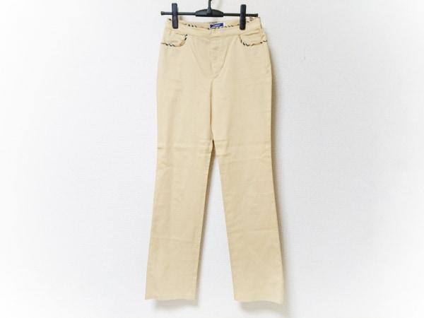 バーバリーブルーレーベル パンツ サイズ38 M レディース ベージュ