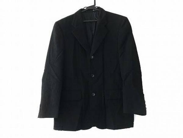 コムデギャルソンオム ジャケット サイズS メンズ美品  黒 肩パッド/薄手