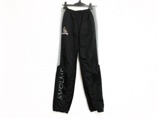 SVOLME(スボルメ) パンツ サイズXS レディース 黒×グレー