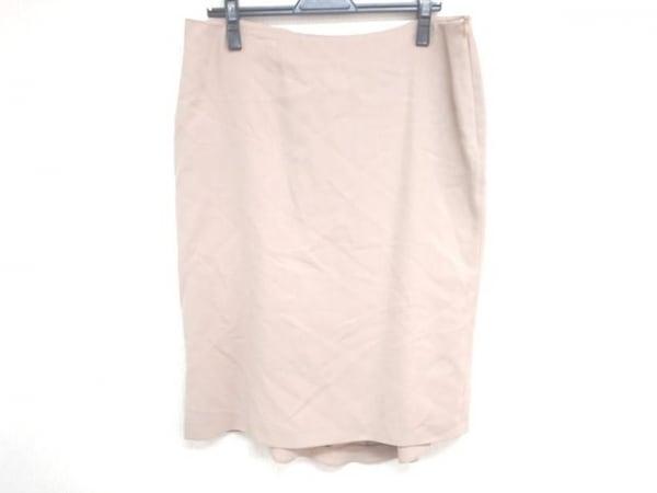 VALENTINO ROMA(バレンチノローマ) スカート サイズ46/12 レディース ベージュ