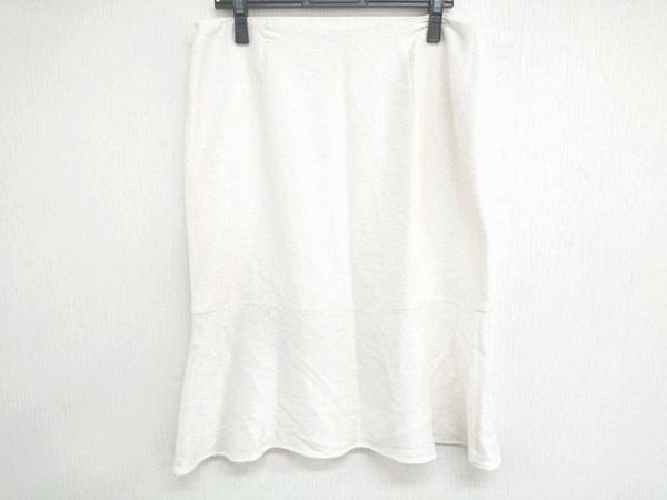 VALENTINO ROMA(バレンチノローマ) スカート サイズ48/14 レディース美品  アイボリー