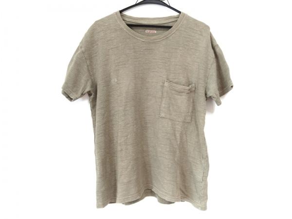 KAPITAL(キャピタル) 半袖Tシャツ レディース カーキ