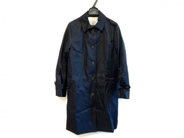 J.PRESS(ジェイプレス) コート サイズ9 M レディース ダークネイビー 春・秋物
