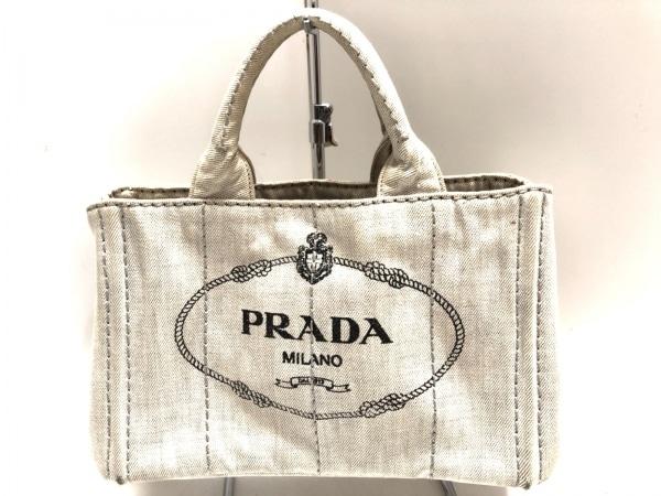 d4bdeb7c6a3a PRADA(プラダ) トートバッグ CANAPA ライトブルー デニムの中古 | PRADA ...