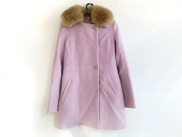 Miia(ミーア) コート サイズ2 M レディース美品  パープル 冬物