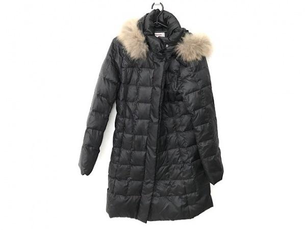 マクレガー ダウンコート サイズ11 M レディース 黒 冬物/ファー、フード取り外し可