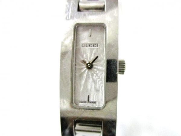 GUCCI(グッチ) 腕時計 3900L レディース シルバー