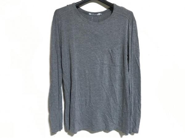 TbyALEXANDER WANG(アレキサンダーワン) 長袖Tシャツ サイズS レディース グレー