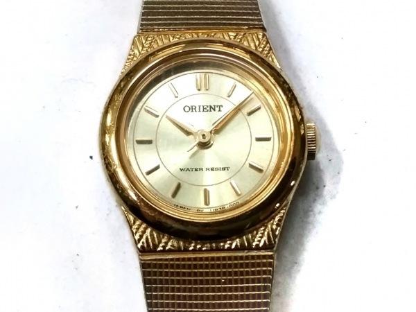ORIENT(オリエント) 腕時計 UB3R-N0 レディース ゴールド