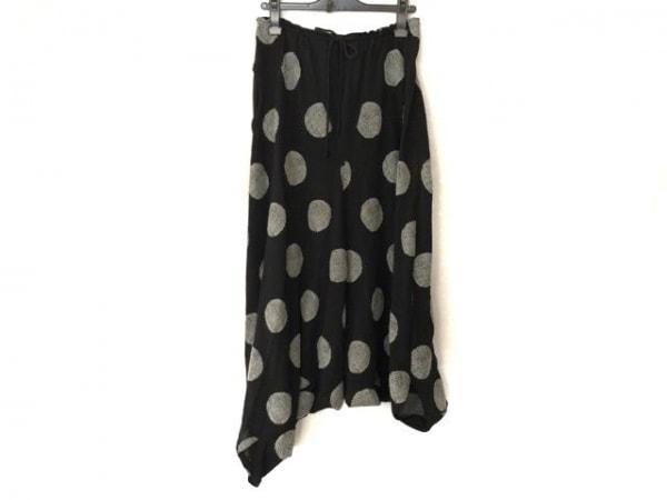 Y's(ワイズ) パンツ サイズ2 M レディース 黒×グレー