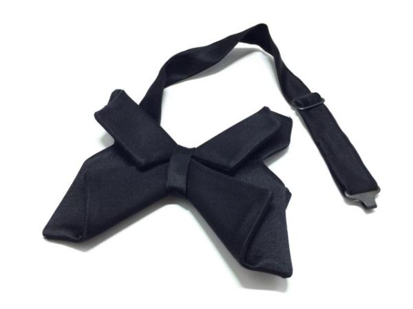 Dior HOMME(ディオールオム) ネクタイ メンズ 黒 蝶ネクタイ