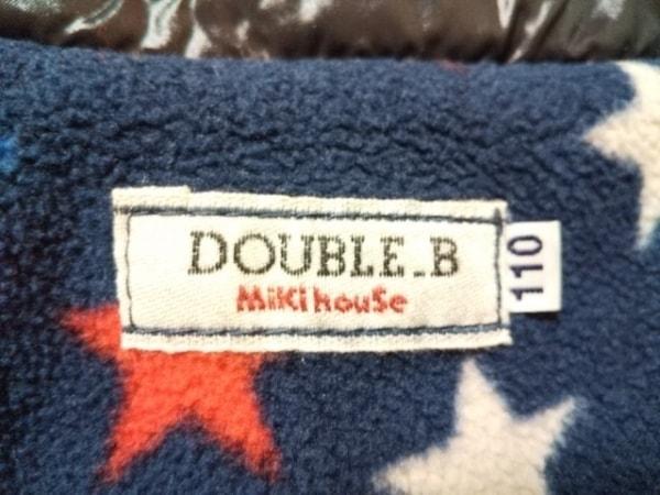miki HOUSE(ミキハウス) ダウンジャケット サイズ110 メンズ 黒×アイボリー
