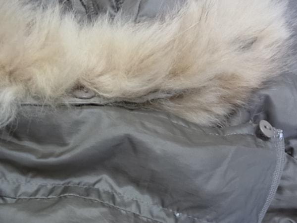 クミキョク ダウンコート サイズ2 M レディース美品  冬物/ジップアップ/ファー