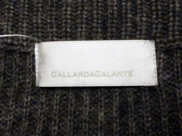 GALLARDAGALANTE(ガリャルダガランテ) 長袖セーター サイズF レディース ダークグレー