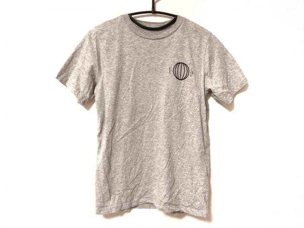 SATURDAYS SURF NYC(サタデーズ サーフ ニューヨーク) 半袖Tシャツ メンズ グレー×黒