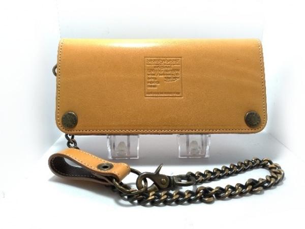 beauty:beast(ビューティービースト) 長財布 ライトブラウン 型押し加工 レザー