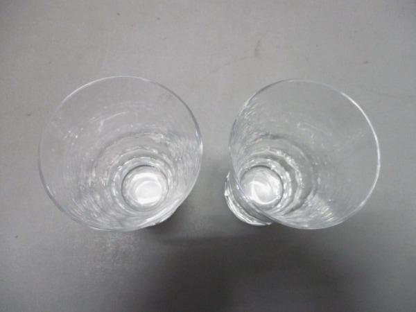 Baccarat(バカラ) ペアグラス新品同様  グラスジャパン クリア クリスタルガラス