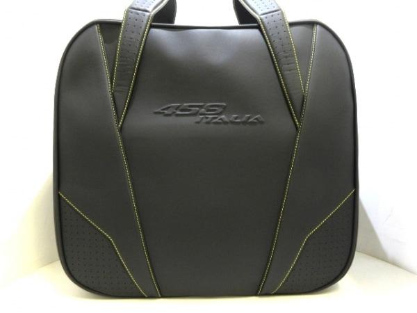 スケドーニ トランクケース美品  黒×イエロー フェラーリ用スーツケース/458 レザー