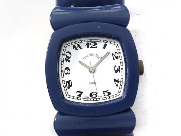 TIME WILL TELL(タイムウィルテル) 腕時計 - メンズ ブレスウォッチ ダークネイビー
